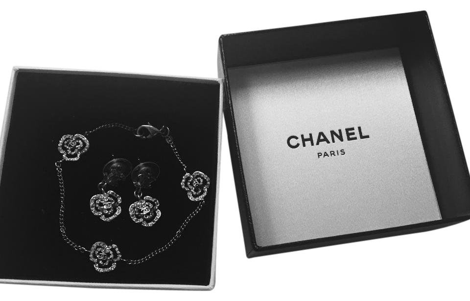 Chanel Final Price 100 Authentic Earrings And Bracelet Set