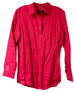 Dana Buchman Button Down Shirt