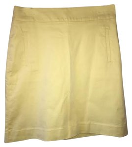 Banana Republic Skirt Yellow