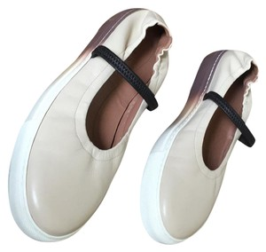 Marni alabaster ombre to brown Flats