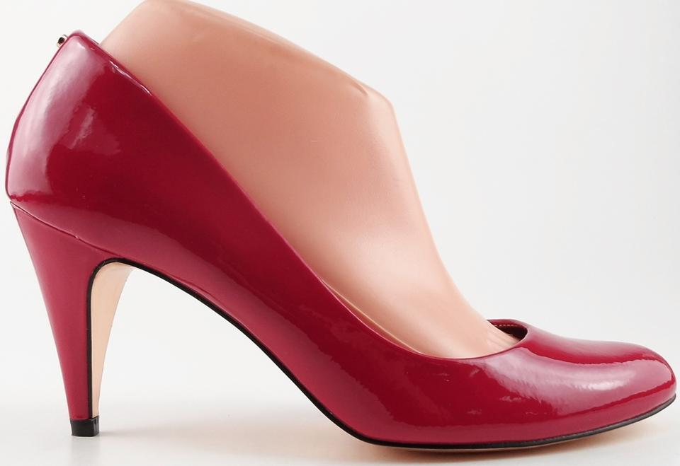 1e9dc98687d Ted Baker Red Peoni 3 Patent Designer Heels Pumps Size US 8.5 Regular (M,  B) 54% off retail