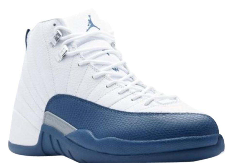 4f71bf35b5e Air Jordan French Blue/ White 12s Sneakers Size US 6.5 Regular (M, B ...