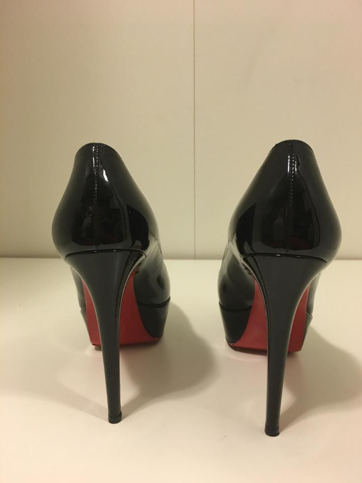 9f26b94ecf4 Christian Louboutin Black Patent Leather Bianca 120 Pumps Size EU 39  (Approx. US 9) Regular (M, B)