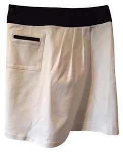 Anne Klein Skirt Black and White