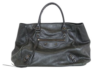 Balenciaga Classic Large Tote Leather Tote Tote For Work Shoulder Bag