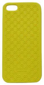 Gucci New Gucci Yellow Guccissima Bio-Plastic iPhone 5 SE Case 323214 7213