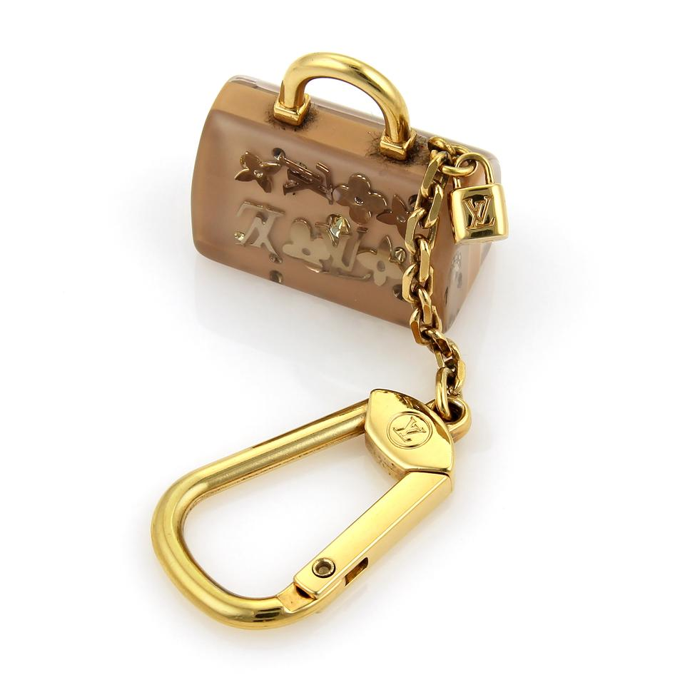 7317096b8cde Louis Vuitton 17696 - Louis Vuitton Inclusion Speedy Bag Charm Key Ring  Image 0 ...