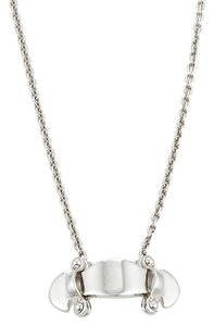 Louis Vuitton Stand By Me 18k White Gold Pendant Necklace