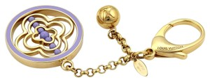 Louis Vuitton 18684 - Louis Vuitton Lilac Whirly Spinner Large Keychain Bag Charm