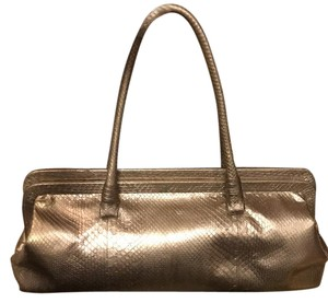 Bottega Veneta Satchel in irridescent pewter