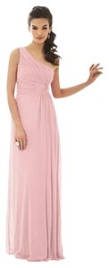 After Six One Shoulder Chiffon Dress