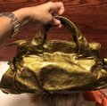 Gucci Gold Patent Leather Satchel Gucci Gold Patent Leather Satchel Image 3