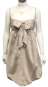 Max and Cleo short dress Brown & Ivory on Tradesy