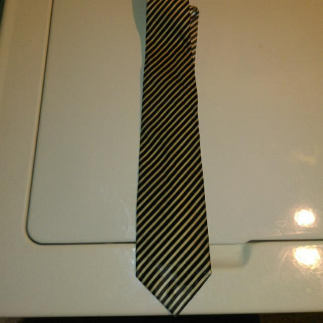 Givenchy Gold N Gray Tie/Bowtie Givenchy Gold N Gray Tie/Bowtie Image 1