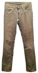 Diesel Pinstripe Railroad Striped Striped Denim Pants