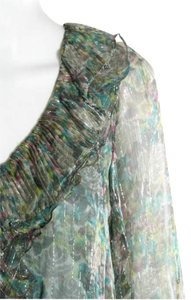 Nanette Lepore Size Small Size 6 Top Blue-Green