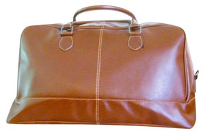 Pelle Studio New Leather Duffel Brown Messenger Bag