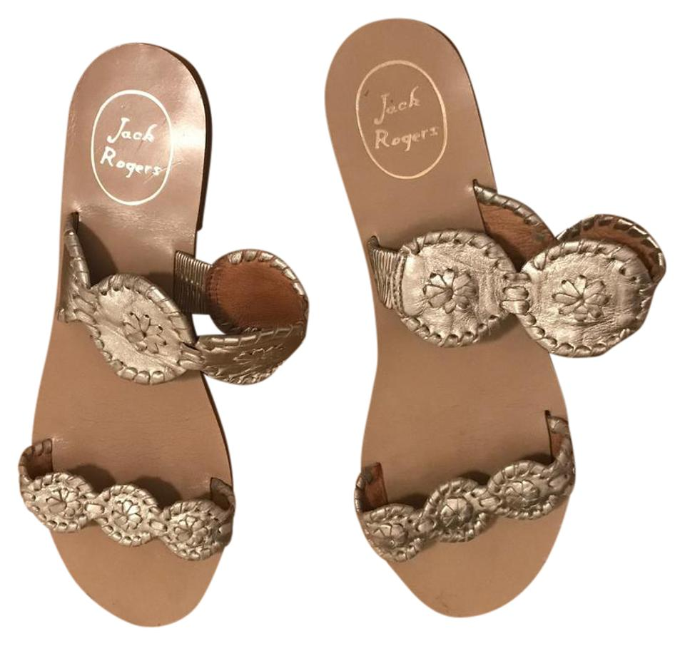 women Jack Rogers Silver and Lauren Sandals Highly appreciated and Silver widely trusted in and out 5fdef8