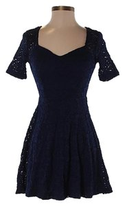 Pins and Needles short dress Midnight Blue on Tradesy