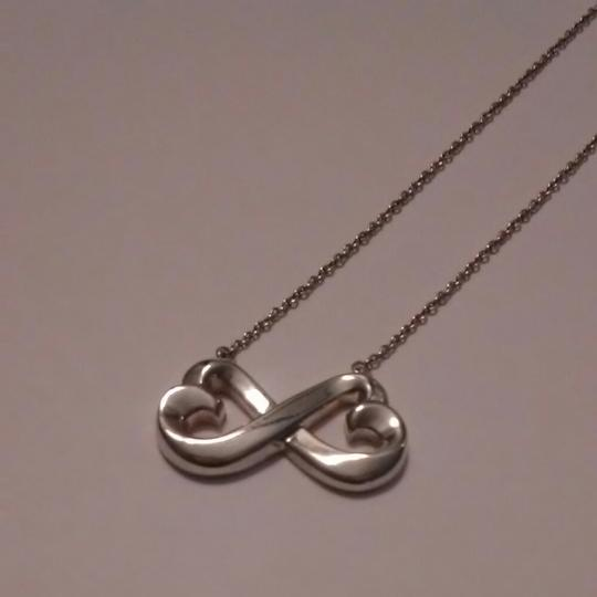 Tiffany & Co. Paloma Picasso Collection Double Loving Heart Necklace