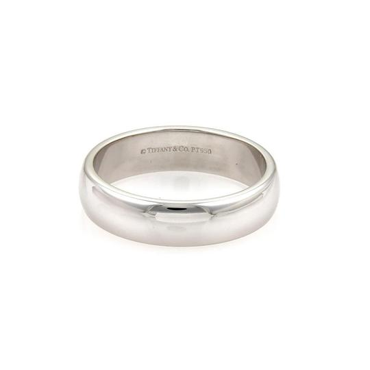 Tiffany & Co. Platinum 6mm Wide Dome Wedding Band Ring Size 11