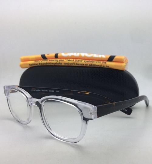 EyeBobs Readers EYE BOBS Eyeglasses BUTCH 2249 20 +3.50 45-21 Clear & Tortoise