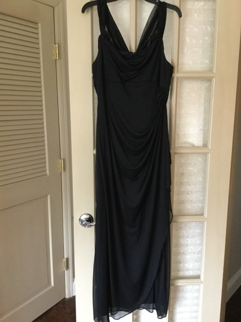 Preload https://img-static.tradesy.com/item/21588793/alex-evenings-black-knit-and-chiffon-mid-length-formal-dress-size-petite-12-l-0-2-650-650.jpg