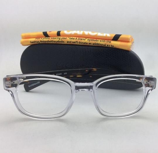 EyeBobs Readers EYE BOBS Eyeglasses BUTCH 2249 20 +3.00 45-21 Clear & Tortoise