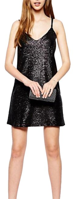 Preload https://img-static.tradesy.com/item/21589119/asos-love-black-sequin-short-casual-dress-size-6-s-0-1-650-650.jpg