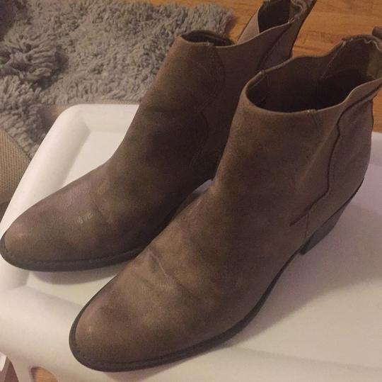 Forever 21 taupe Mules