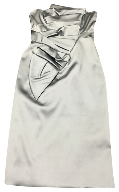 Item - Silver Cocktail Dress Size 6 (S)