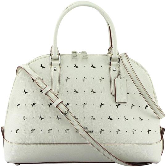 Preload https://img-static.tradesy.com/item/21589314/coach-sierra-perforated-chalk-crossgrain-leather-satchel-0-1-540-540.jpg