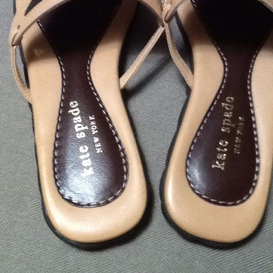 Kate Spade Brown, Tan Sandals