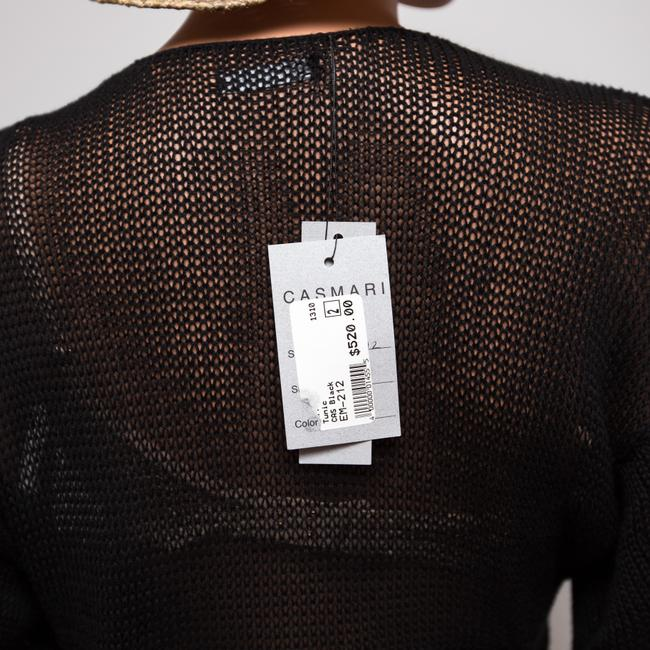 Casmari Hand-loomed Made In The Usa Long Sweater