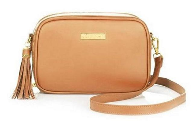 Item - With Rfid Security From Tan Leather Cross Body Bag