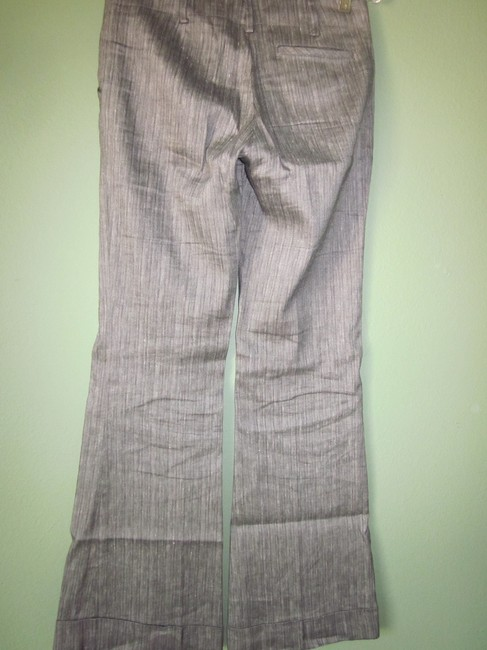 Twelfth St. by Cynthia Vincent Herringbone 12th Trouser Pants Black