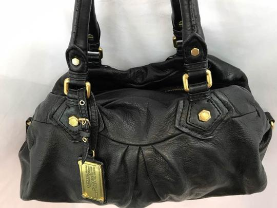 Marc by Marc Jacobs Leather Satchel in Black