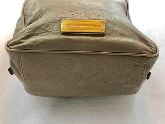 Marc by Marc Jacobs Taupe Leather Satchel