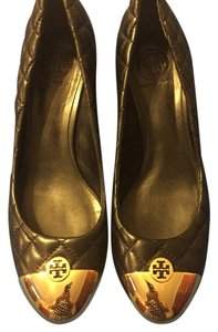Tory Burch Black/gold Pumps