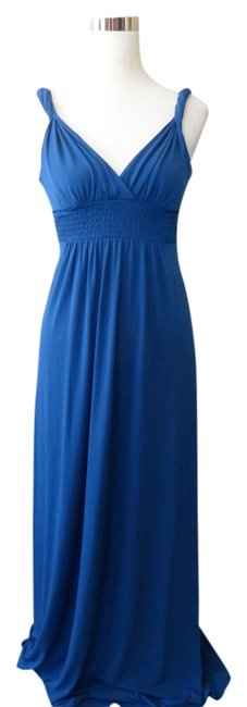 Preload https://item1.tradesy.com/images/max-and-cleo-blue-and-small-long-casual-maxi-dress-size-6-s-2158995-0-0.jpg?width=400&height=650