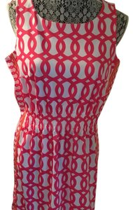 Gretchen Scott short dress Hot pink on Tradesy
