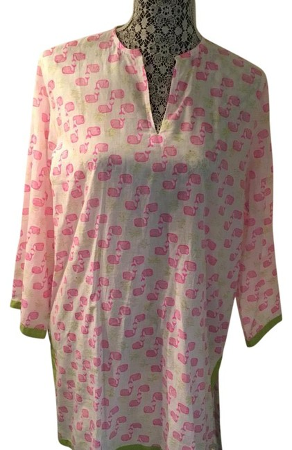 Preload https://img-static.tradesy.com/item/21590224/white-and-pink-nantucket-whales-tunic-size-8-m-0-1-650-650.jpg