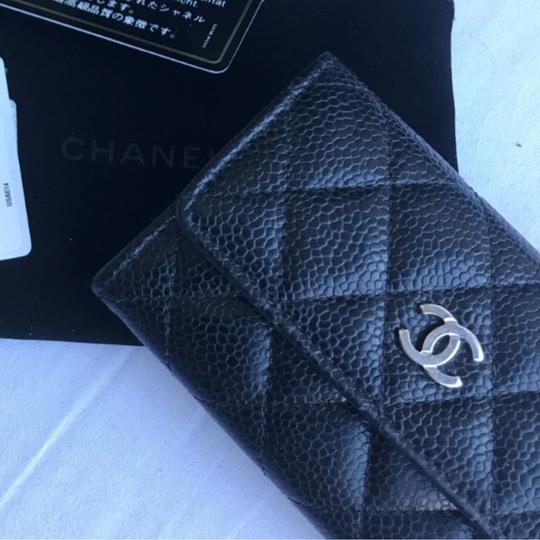 Chanel Caviar Card Holder