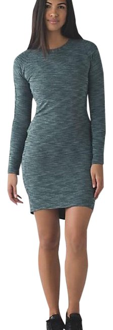 Item - Green &go Where To Long Sleeve Short Casual Dress Size 2 (XS)