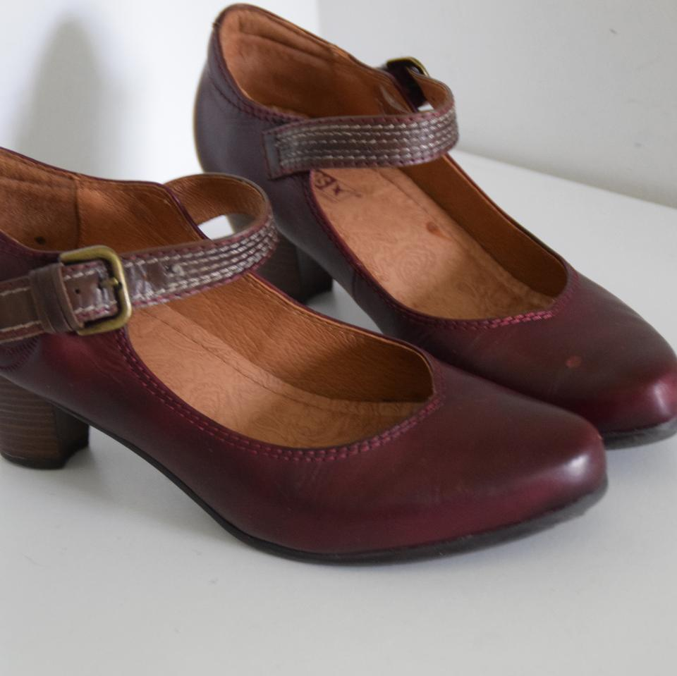 c0b48d6e PIKOLINOS Burgundy Mary Jane Low Pumps Size US 9 Regular (M, B ...