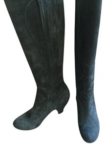Coclico Suede dark charcoal grey Boots