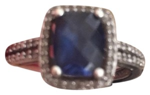 Sterling - Sapphire Ring