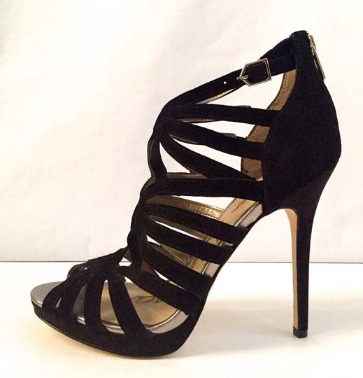 Sam Edelman Stiletto New Sz 8 Caged Black Pumps