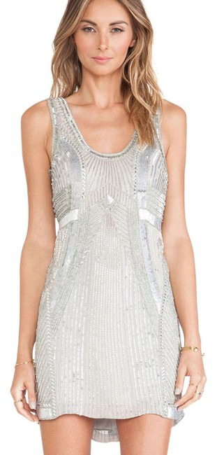 Preload https://img-static.tradesy.com/item/21590794/parker-silver-comoros-sequin-embellished-silk-shift-short-night-out-dress-size-6-s-0-1-650-650.jpg