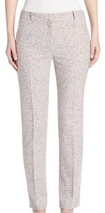 Hugo Boss Tweed Grey Melange Straight Pants